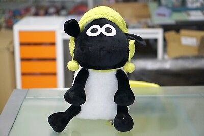 *** Nwt Authentic Xl Shaun The Sheep (Wallace & Grommit) Knit Hat Plushy 2018***