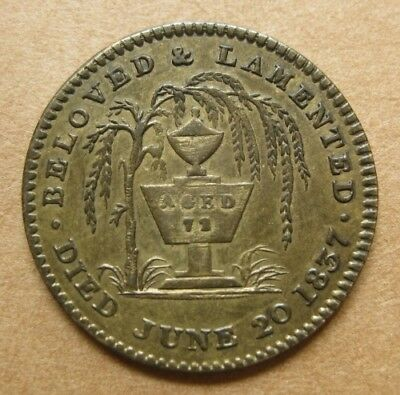 1837 King William IV Death Medal from Great Britain