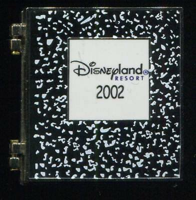 DLR SCHOOL COMPOSITION Notebook Mickey Minnie Hinged LE Disney Pin 16205
