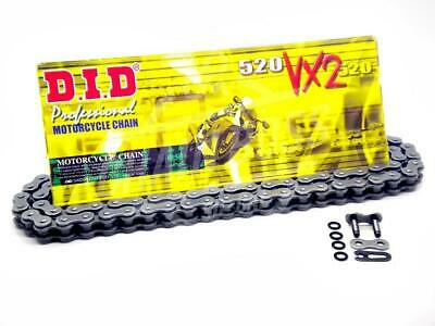 DID 520 x 112 Links VX2 Pro-Street Series Xring Sealed Natural Drive Chain