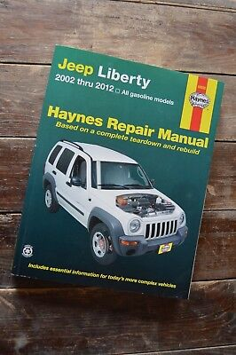 Jeep Liberty Haynes Repair Manual 2002 thru 2012, Excellent Condition