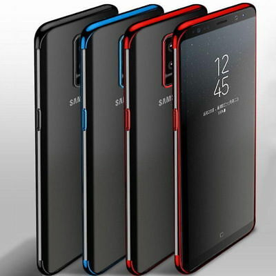 Shock Ultra-thin Slim Clear Soft TPU Case Cover For Samsung Galaxy S9/S9 Plus