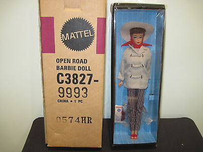 Open Road Barbie Doll Collector Club Exclusive Gold Label NRFB C3827