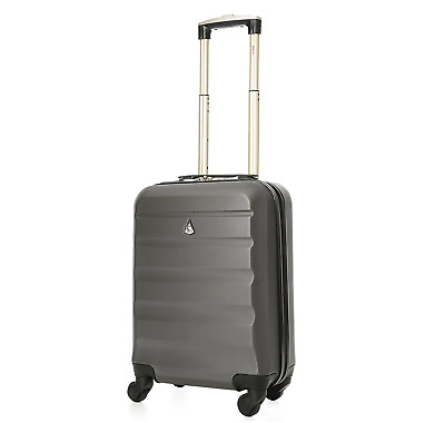 Aerolite Super Lightweight ABS Hard Shell Travel Carry On Cabin Hand Luggage 33L