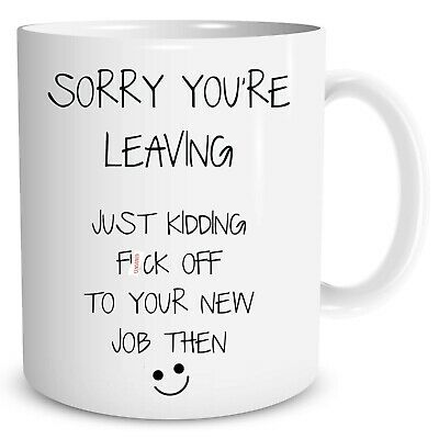 Novelty Funny Humour Coffee Mugs Leaving Gift Present Colleague Gift WSDMUG1074
