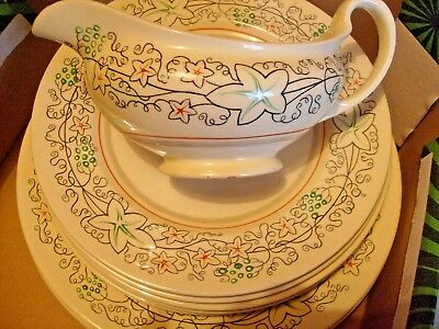 21 Piece Gray's Pottery Dinner Service.1945