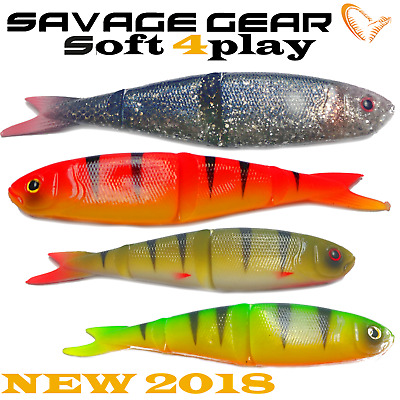 Savage Gear Soft 4Play Loose Body soft baits esche morbide COLORI! 8cm 4g