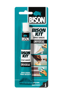 Bison Kit Contact Adhesive Glue Instant Bond Super Strong Universal 50Ml