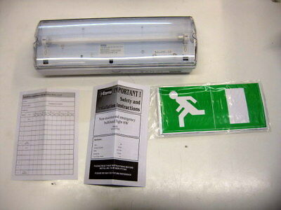Eterna YD630NM IP65 8W T55 3 Hour Non Maintained Emergency Bulkhead Light