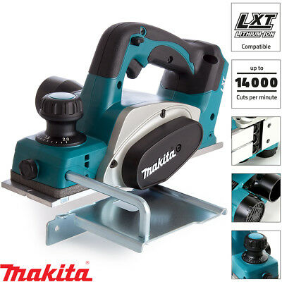 Makita DKP180Z 18V LXT Li-ion 82mm Cordless Planer Naked Body Only ex BKP180Z