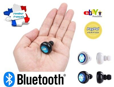Kit Main Libre Bluetooth Mini Oreillette Ecouteur Iphone Samsung Micro Android