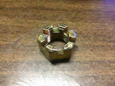 "1""-14  SAE Slotted hex nut Castle nut"