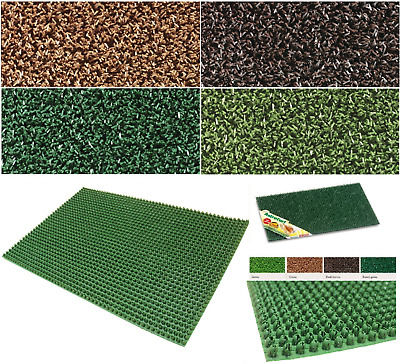 Astro Turf Door Mat Anti Slip External Plastic Scraper Anti Slip Home Entrance