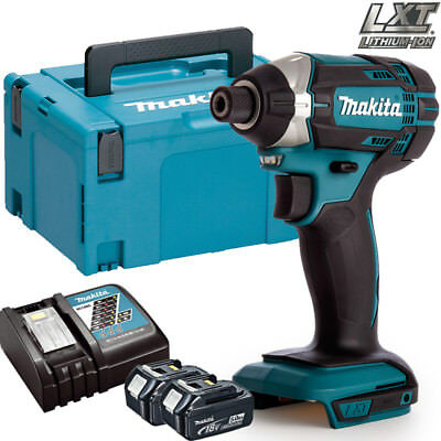 Makita DTD152Z 18V Li-ion Impact Driver With 2 x 5Ah Batteries, Charger & Case