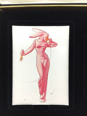 Classic Pinup Art By George Petty Premium Collectible Zippo Gift Set Bunny New