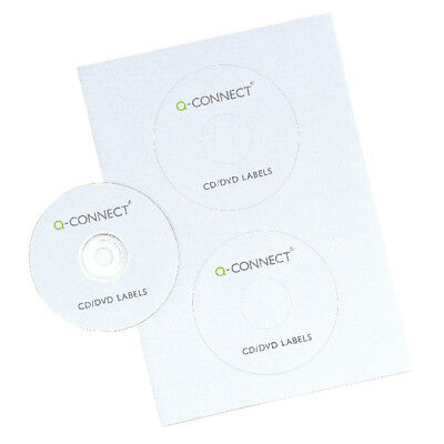 Q-Connect Full Face CD/DVD Label (Pack of 100) KF05608