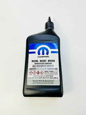 Quadra-Trac Transfer Case Fluid  ALL JEEP'S with Quadra-Trac WJ 1999-2004