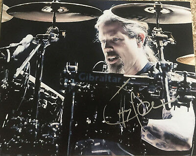 Chris Adler Lamb Of God Megadeth Drummer Drums Signed Autograph 8X10 Photo F