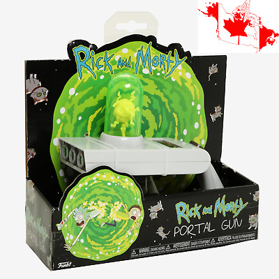 Funko Rick And Morty Portal Gun 8-Inch Long Toy Projection On The Wall & Sound
