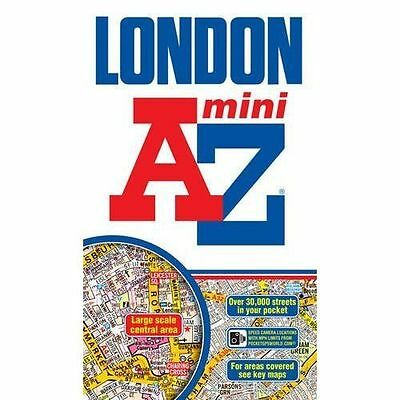 Mini London Street Atlas by Geographers' A-Z Map Company (Paperback, 2012)
