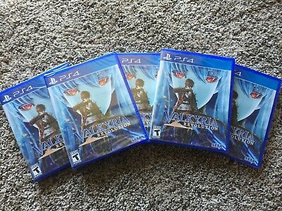 Valkyria Revolution (Sony PlayStation 4, 2017) PS4 NEW