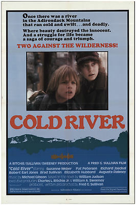 Cold River 1982 27x40 Orig Movie Poster FFF-68465 Rolled Fine, Very Fine