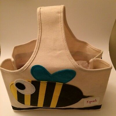 3 Sprouts Storage Caddy - Bee