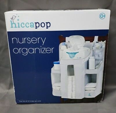 hiccapop Nursery Organizer and Baby Diaper Caddy | Hanging Diaper Organization