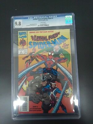 The Lethal Foes Of Spiderman #1 Marvel 1993 CGC 9.8!