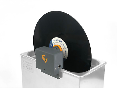 CleanerVinyl One Attachment: Ultrasonic Vinyl Cleaning of One Record at a Time
