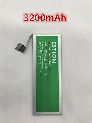 3200mAh Battery Replacement For Apple Iphone 5S Battery For Iphone 5C Free Shipp