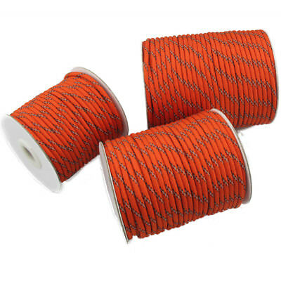5MM Camping Tent Awning Reflective Guyline Rope Runners Guy Line Cord Paracord E