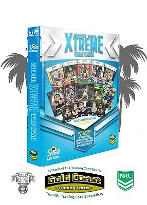 2018 Nrl Xtreme Game Album With Complete Base Set - Full Set 144 Cards