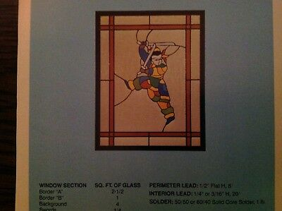905728LF Stained Glass Supplies LEAD-FREE FLYING DRAGON FREE SHIPPING