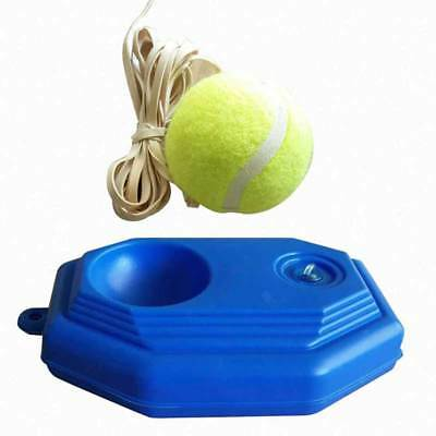 Tennis Ball Back Base Trainer Set+Training Ball For Single Training Practice bh
