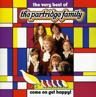 PARTRIDGE FAMILY COME ON GET HAPPY The Very Best of CD NEW