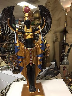 Unique  Large  Size Egyptian Goddess ISIS Statue Hand  Made in Egypt
