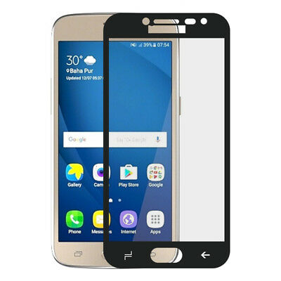 For Samsung Galaxy J2 Pro S7 C8 J7 Full Cover Tempered Glass Protector Guard AR3