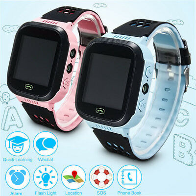 Q528 Smart Watch Anti-lost GPS Tracker Wrist For Android IOS Phone Kids Safe UK