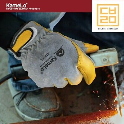 TIG Welding Gloves, Leather Work Gloves,812 KameLo