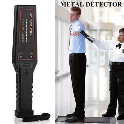 Portable Hand-held Metal Security Detector Super Scanner Wand Airport Scanner