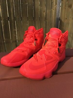 hot sales b5200 13cb7 ... xiii promo eybl size 7 new 843801 696 rare sample 13 what the 31f91  af809  shopping nike lebron 13 nike id yeezy red october size 13 rare 97b5d  af331