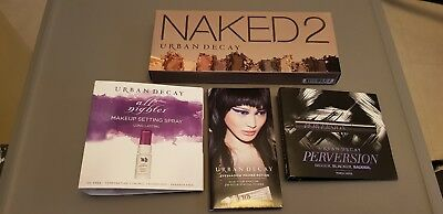 Urban Decay NAKED 2 eyeshadow palette BUNDLE 100% Authentic