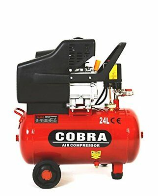 New Cobra 25, 50 Liter Electric Air Compressor 9.5Cfm 2.5Hp 230V 115Psi Portable
