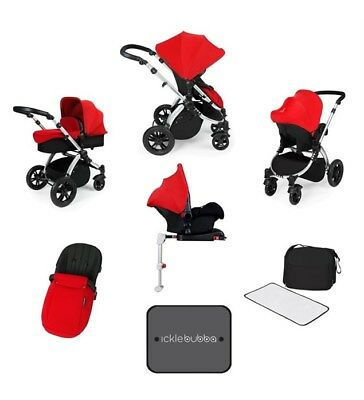 Ickle Bubba Pushchair Footmuff In Red