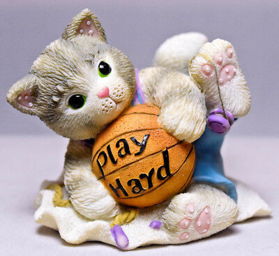 Calico Kittens: Play Hard - 642312 - Kitten Holding Basketball & Yo-Yo