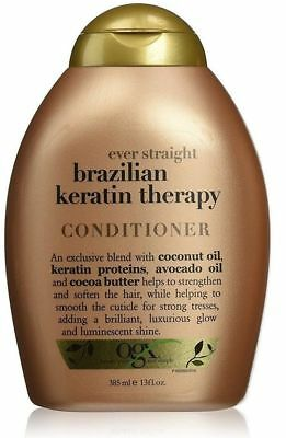 OGX Brazilian Keratin Smooth Ever Straightening Conditioner13oz/ 385 ml