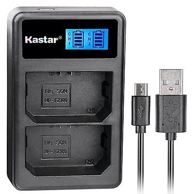 Dual LCD Charger for Sony NP-FZ100 Battery, BC-QZ1 Charger,Alpha 9 9R a9 a9R a9S