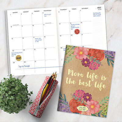 July 2018 - June 2019  Mom Life Monthly Planner
