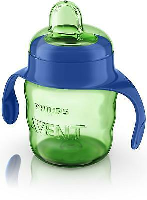 Philips Avent Easy Sip Spout Sippy Cup, Easy Hold Handles & Hygienic Lid, 200ml